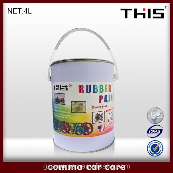 Hot Sale Car Peelable Rubber Paint Usa