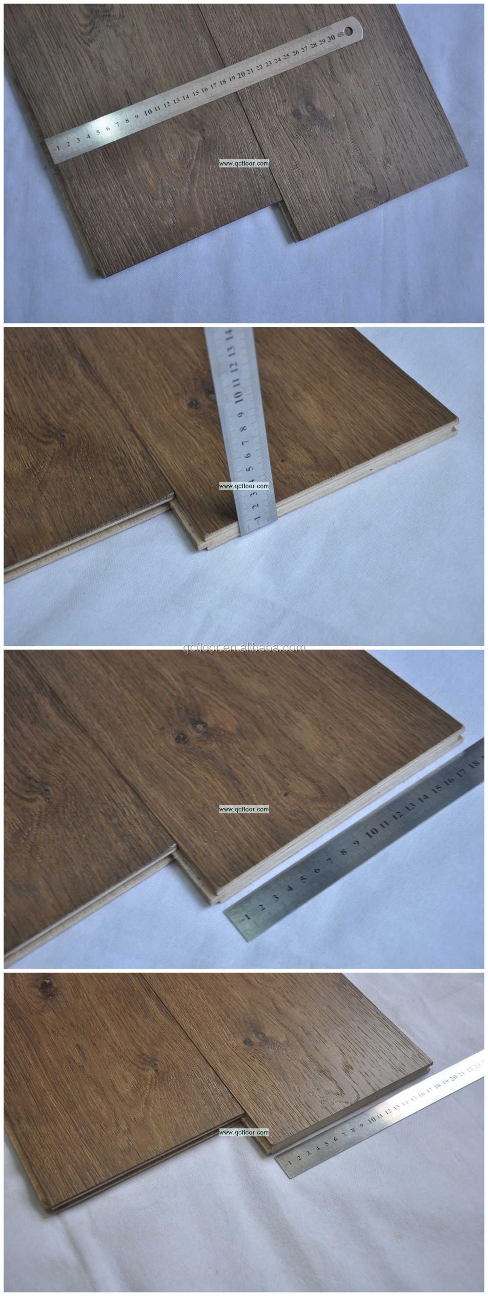 brede plank gerookte eiken vloeren goedkope parket houten vloeren
