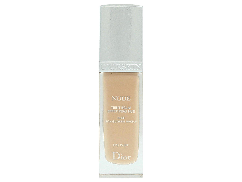 Christian Dior Nude Skin-Glowing Makeup SPF 15, # 023 Peach, 1 Ounce