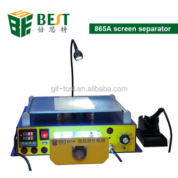 BEST-658A Professional supply vacuum pump lcd touch screen separator machine
