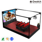 Trade Assurance realistic interactive truck mobile 5d cinema luxury seats 5d theater