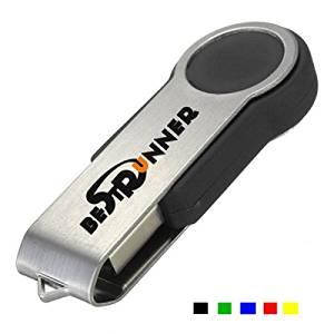 (Random Color) Bestrunner 16G Swivel Flash Drive USB 2.0 Memory U Disk / Bestrunner 16G Swivel Flash Drive USB 2.0 Memory U Disk . . Specifications: . Interface: USB2.0 . . Material: Metal