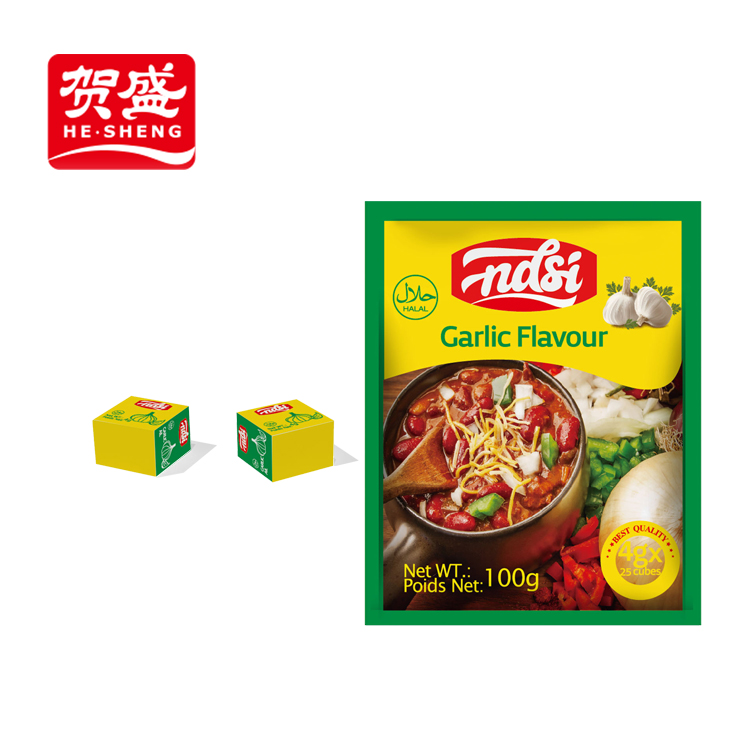 Manufacture inspired flavors mixed seasoning cube india spices