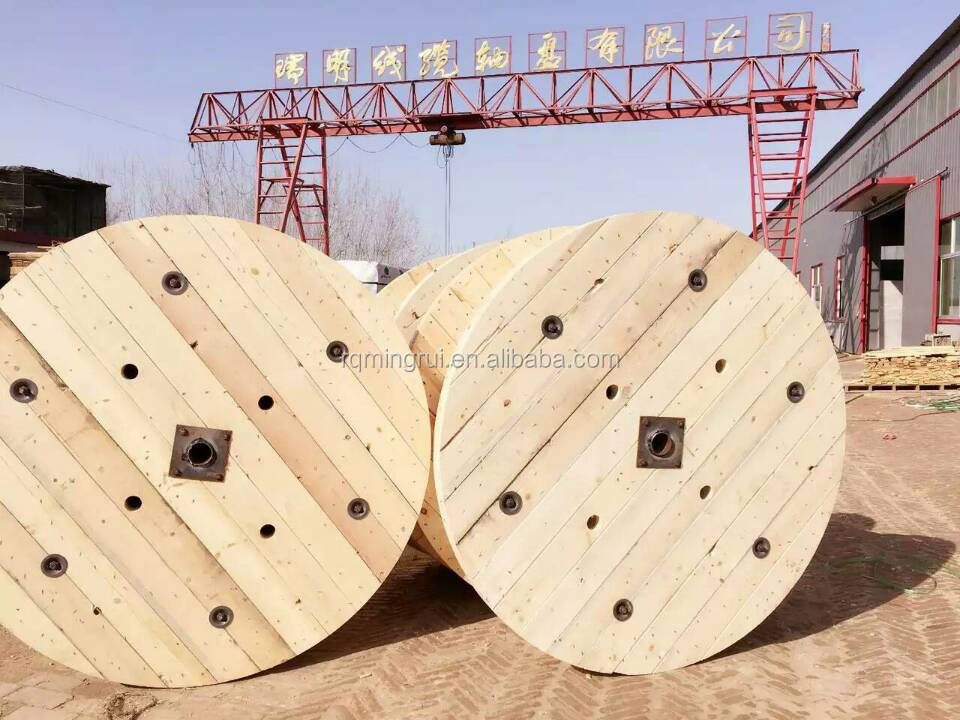 Empty Wooden Spools Reels For Electric Cable Wire Supplier, Empty ...
