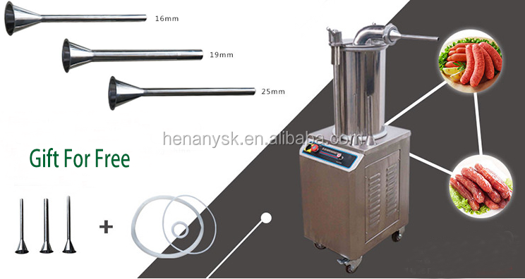 IS-SF350 Hydraulic Commercial Sausage Filling Machine, Enema Machine