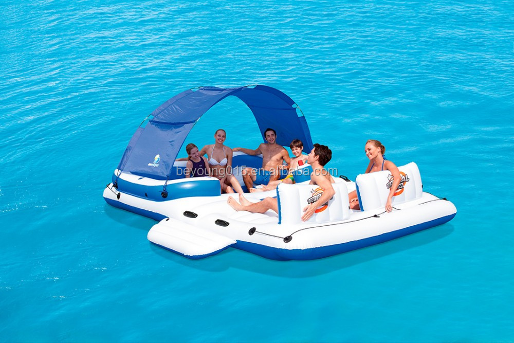 Canopy Type Giant 5 Person Beach Inflatable Float For
