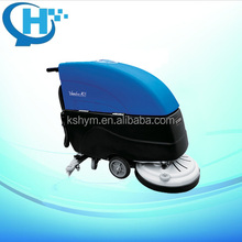 high quality equipment small handheld commercial wire type tile washing machine electric floor cleaning brush with squeegee