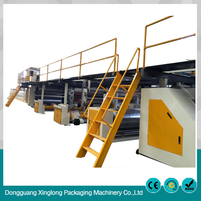 Xinglong 7- ply Corrugated paperboard production line