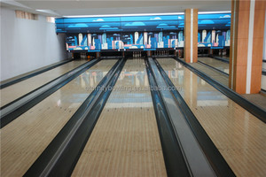 Brunswick GS96 Bowling Second Hand Equipment Synthetic Bowling Lanes