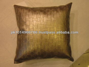 Cushion Cover Fabric Leather Look New Latest Design Ethnic