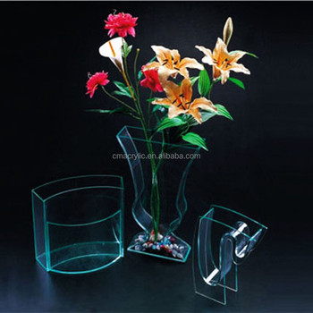 Elegant Home Small Clear Plastic Vases For Centerpieces Buy Clear