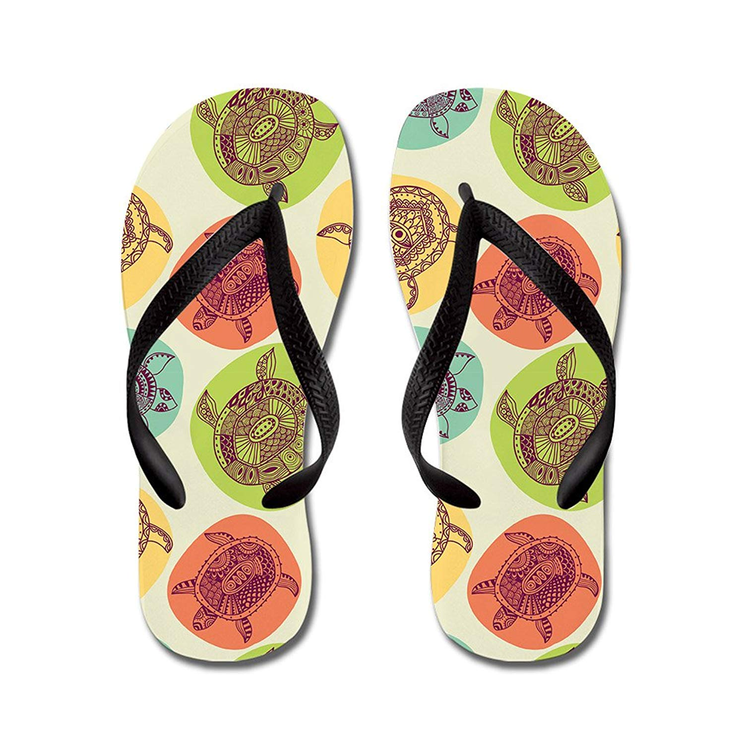 Lplpol Cute Paw Prints Flip Flops for Kids and Adult Unisex Beach Sandals Pool Shoes Party Slippers