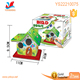 2018 Diy education toys for children watercolour printing log cabin,diy house craft kit for kids