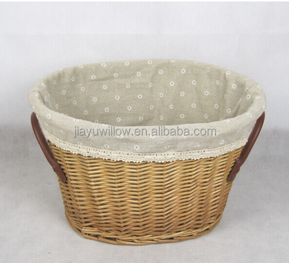 wholesale handmad corner wicker storage basket wicker office storage baskets white wicker basket