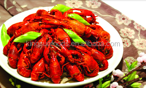 Frozen cooked Fat-off crayfish crawfish TailMeat