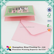 Wedding Greeting Birthday Card Printing Supplier in China