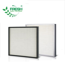 FRS-HM FRESH H14 mini-pleat hepa air filter for operation room