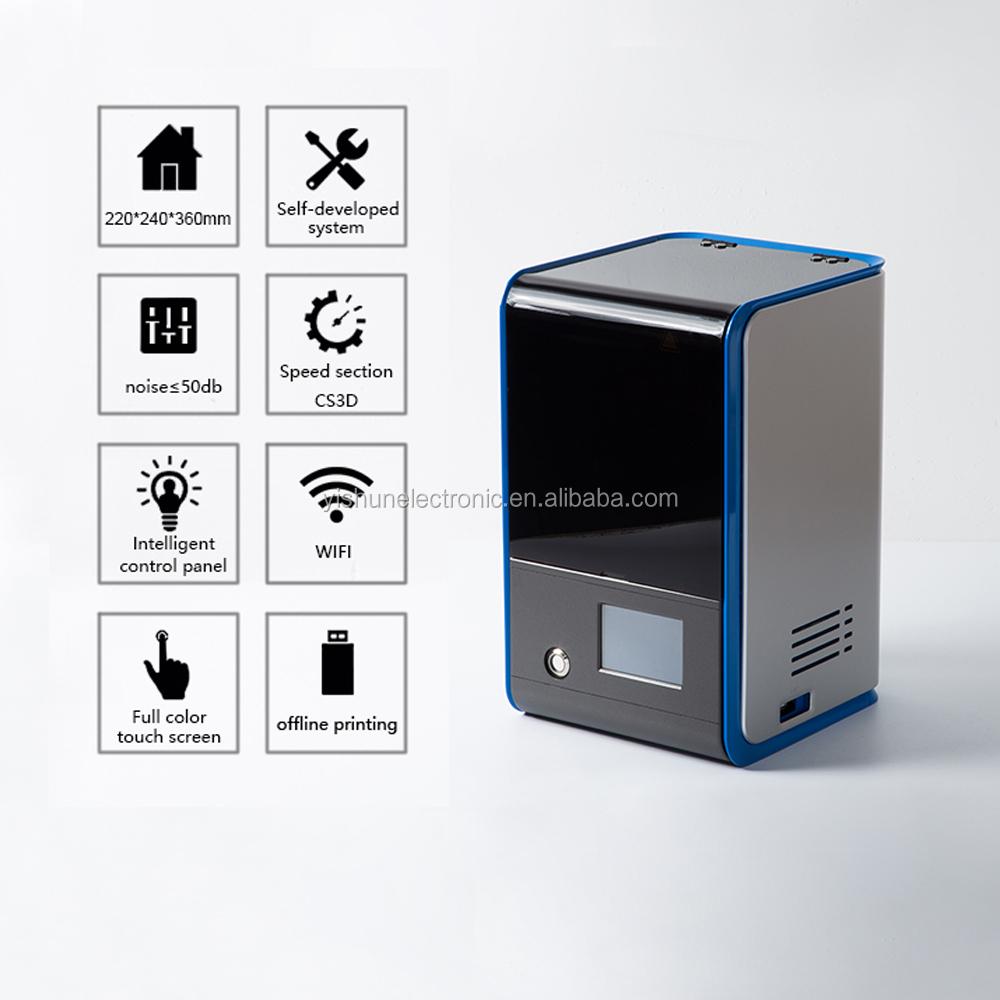 Uv Resin Lcd 3d Printer For Jewelry And Dental Models Printing With Sla/dlp  Resin - Buy Uv 3d Printer,Uv Lcd Printer,Lcd Printer Resin Product on
