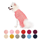 Pet 13 Colors Wool Blend or Acrylic Classic Cable Knit Dog Sweater