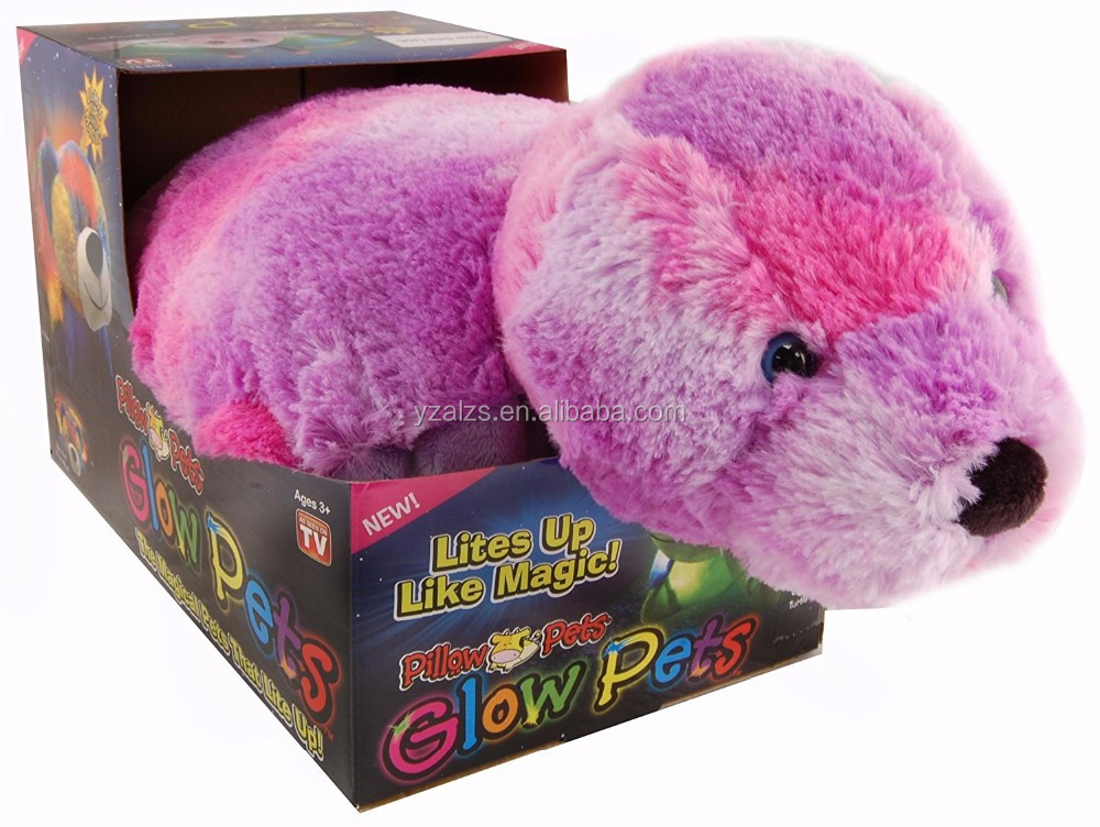 Knuffel Met Licht : Kussen huisdier seal led licht kussen knuffel speelgoed buy kussen