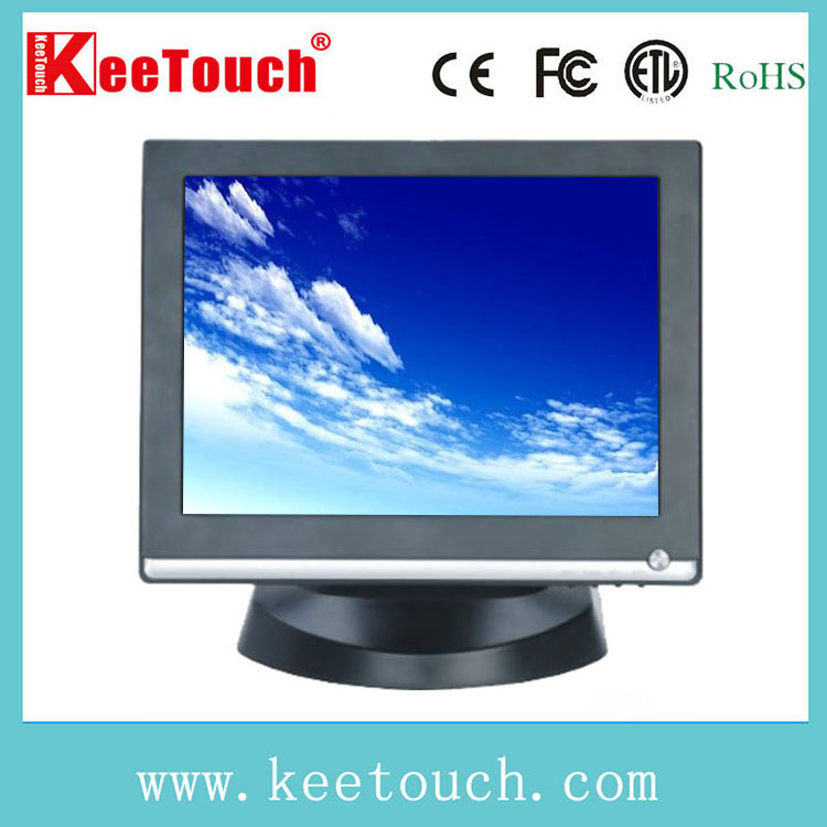 17 inch LCD Desktop SAW waterproof touchscreen monitor