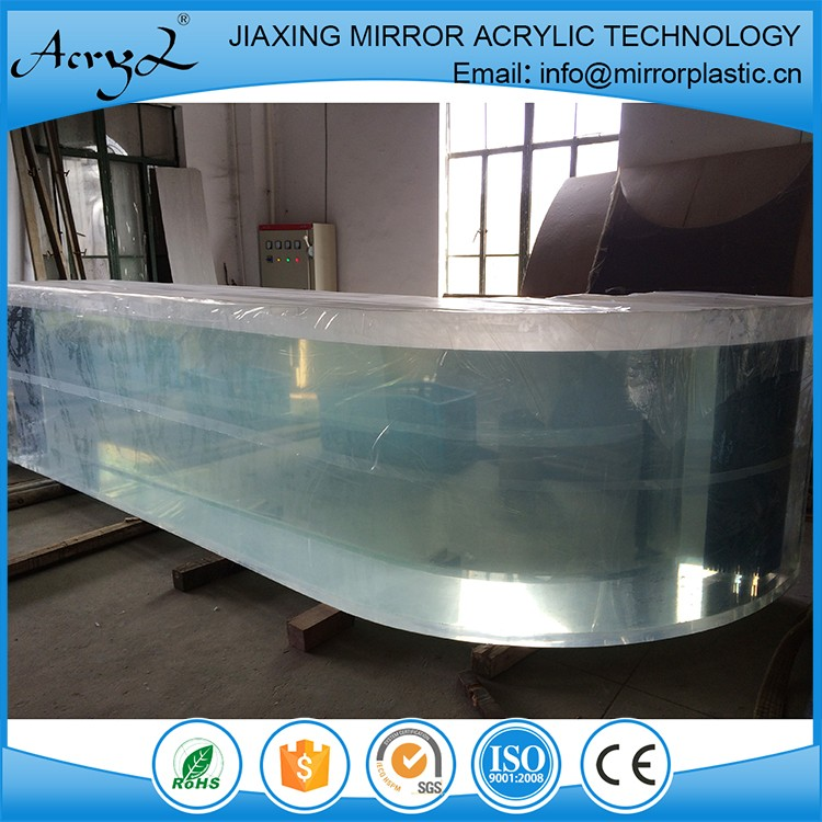 Alibaba wholesale design acrylic aquarium glass sheet for How to build an acrylic fish tank