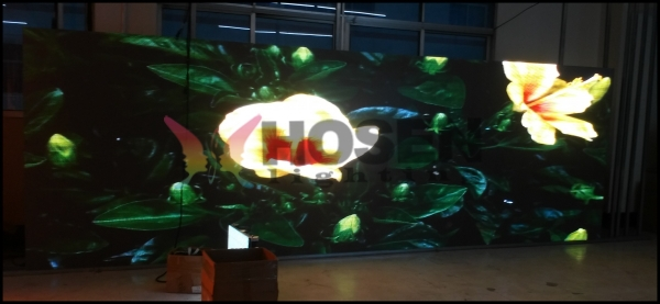 indoor P6 led display graduation party screen