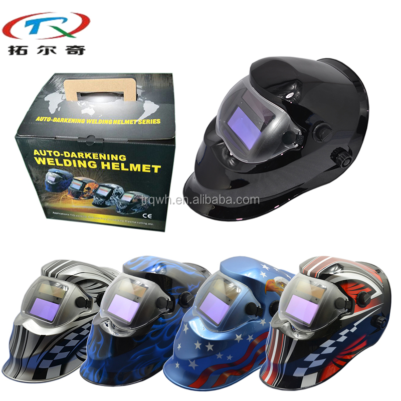 glass flip front marine custom welder mask automatic darkening welding helmet for sale