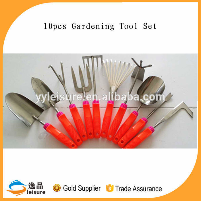 Wholesale 10pcs With Rubber Coated Handle Personalized Garden Tools