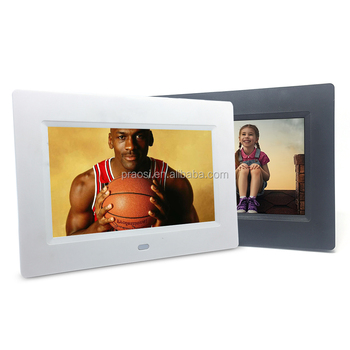 7 Inch Digital Photo Frame Black White Color Wifi Android Digital