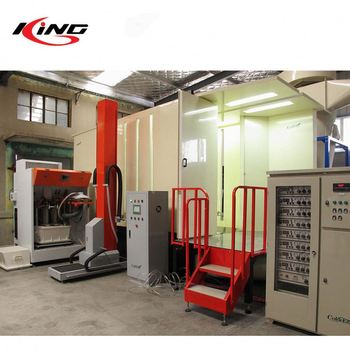 PCB-72004/PCB-72004(V) Automatic Large Secondary recovery System Pvc Powder Coating Spray Booth