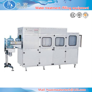 Full automatic 20 liter bottle filling machine / mineral water washing filling capping machine