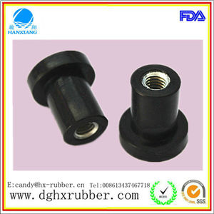 China good sealling rubber plug insert,rubber screw stopper