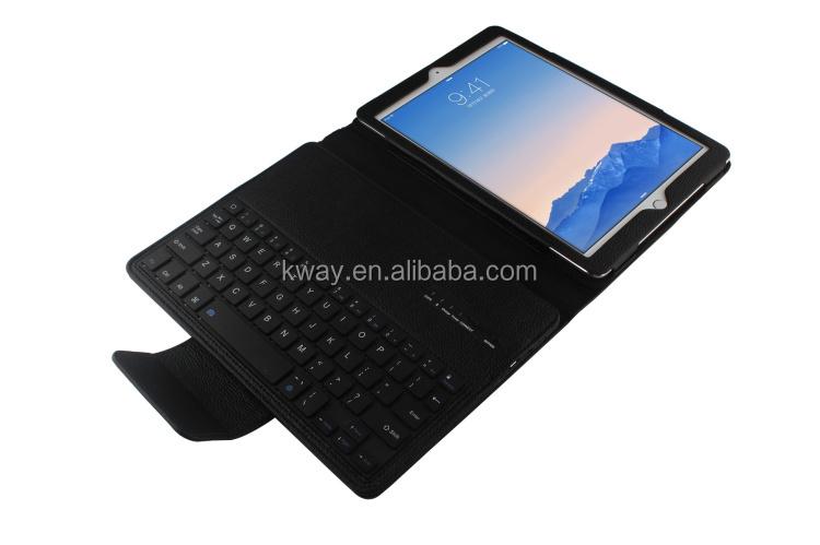 e4305eb8ca1 For Apple iPad Air 2 iPad 6 9.7 inch Tablet Removable Wireless Bluetooth  Keyboard + PU