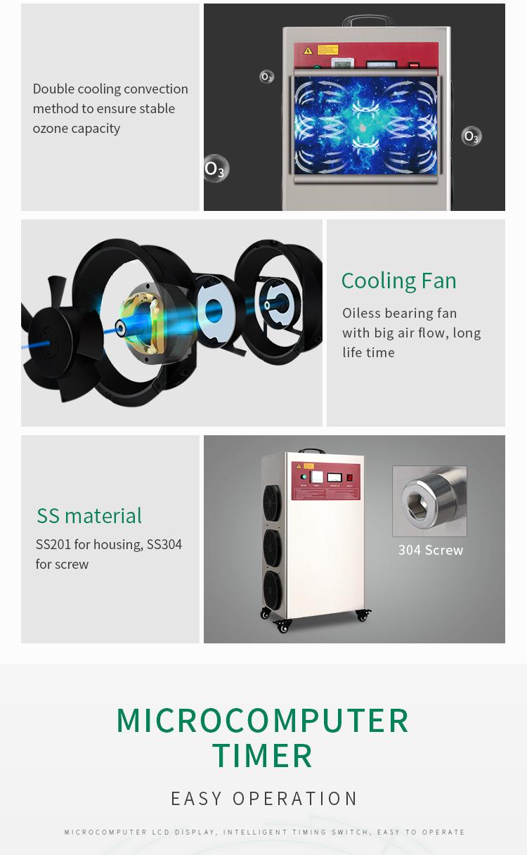 औद्योगिक अपशिष्ट जल उपचार के लिए ओजोन जनरेटर/ओजोन खाद्य स्टरलाइज़ मशीन