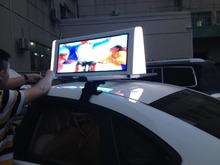 digital led taxi billboard/outdoor led taxi advertising display screens