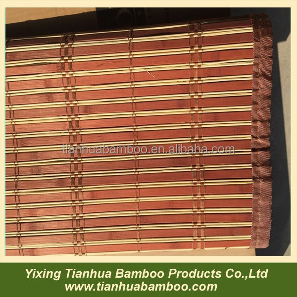 bamboo folding curtains vertical