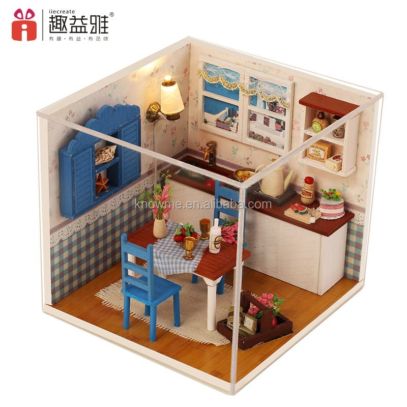 Gold Supplier Diy Dollhouse Miniatures 112 Wholesale Wooden