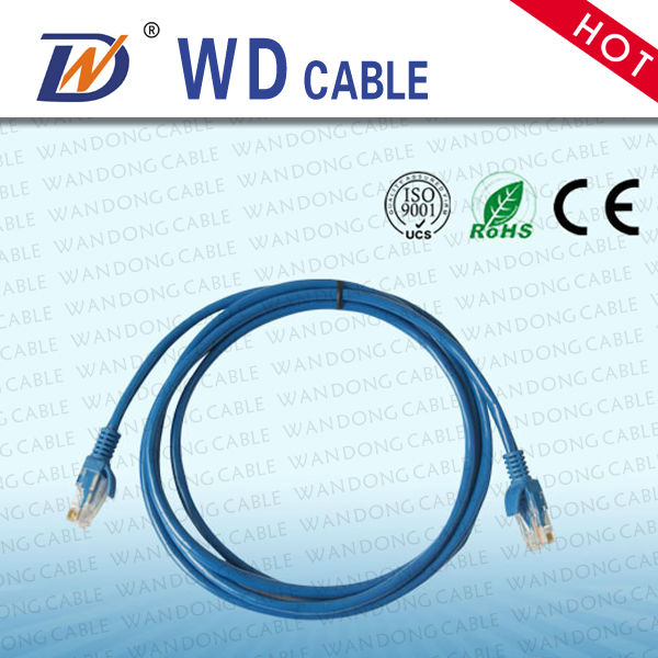 75 Feet Blue Cat6 75FT Networking RJ45 Ethernet Patch Cable Xbox \ PC \ Modem \ PS4 \ Router