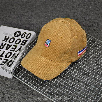 357560b1ebe63 Custom Blank Wholesale Corduroy Dad Hat Men Baseball Caps and Hats With Metal  Strap Back