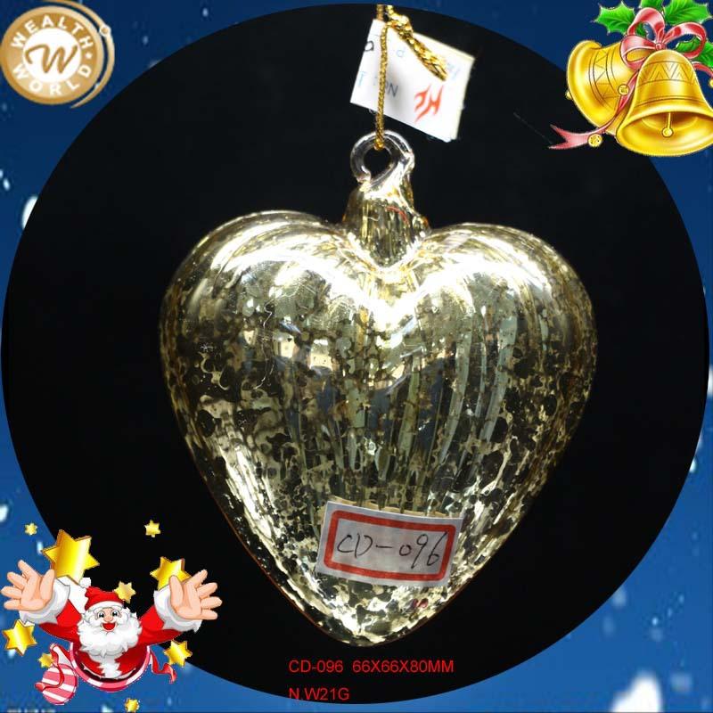 heart shaped glass wedding ornaments buy glass wedding ornaments