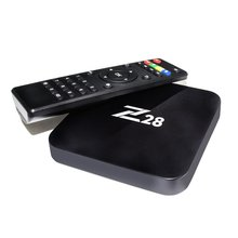 Android 7.1 TV Box Z28 Rockchip RK3328 A53 1 GB/8 GB (2 GB/16G Opzionale) supporto H.264, 265 4 K <span class=keywords><strong>USB</strong></span> 3.0 WiFi OTT Box