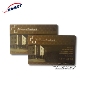Customize printing plastic pvc card RFID smart card magnetic strip CPU chip card
