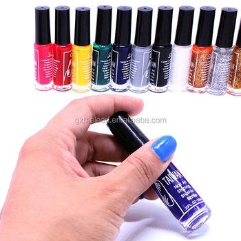 12pcsset Nail Art Striping Brush Drawing Paint Nail Polish Pen For
