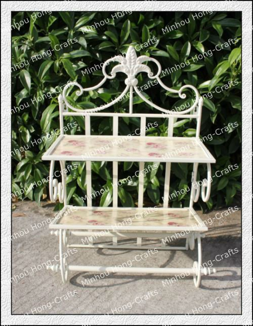 Perfect H67cm! Garden Lovely Ourdoor French Style Antique Metal Wrought Iron Plant  Stand/decorative Folding Shelf/garden Display Stands   Buy Wrought Iron  Plant ...