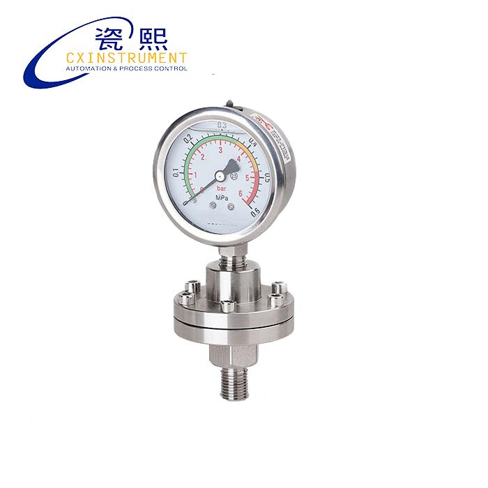 Installation de jauge de pression d'eau au mercure