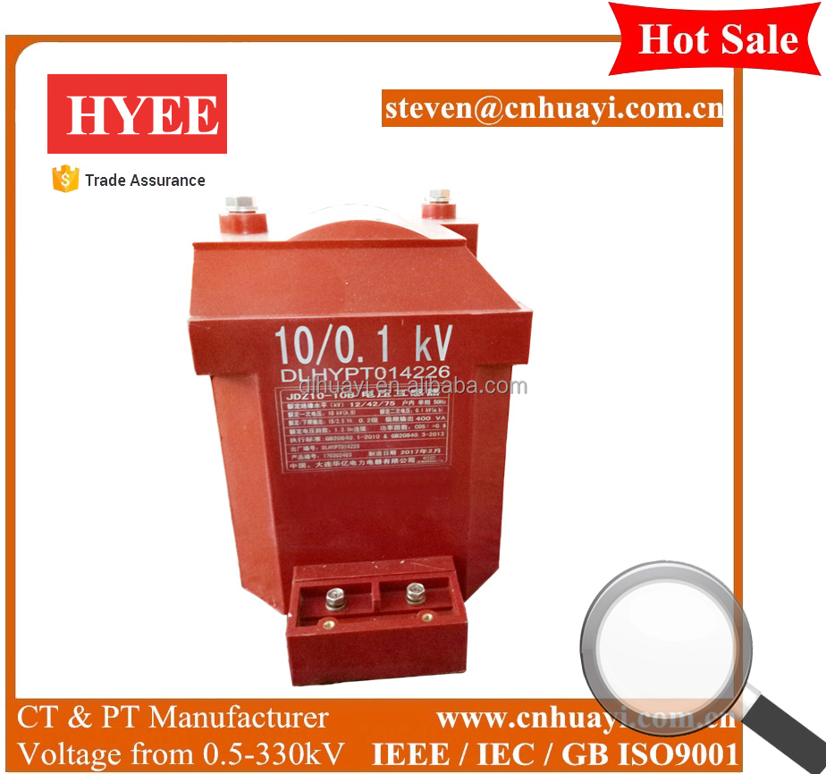 Hot sale JDZ series MV voltage transformer 3kV 6kV 10kV
