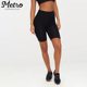 custom women fashion cycling summer workout biker shorts