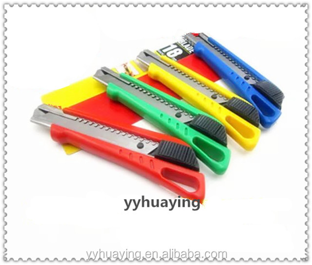 Plastic knife super pecison snap off knife Safety Cutter Knife