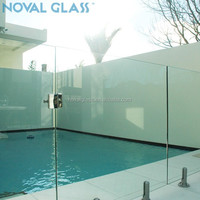 Hot Sale Designed Clear Tempered Glass Pool Fencing